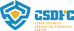 Cyber Security and Digital Forensics Center Логотип